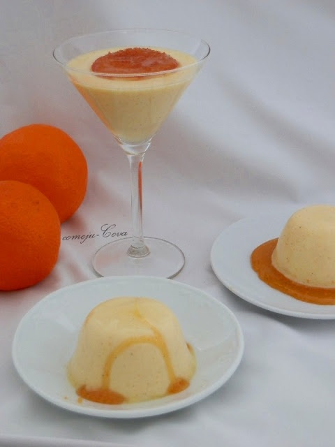 Comoju: Panna Cotta de Naranja