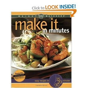 Favorite cookbook from WW... need to use it more often, nearly everything turns out beautifully from it.