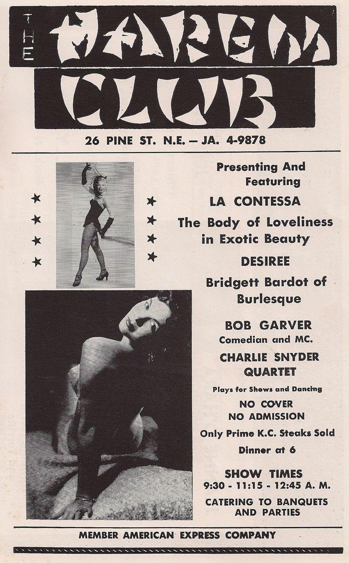 Harem Club - 08/24/1959