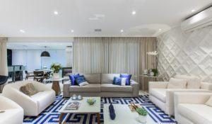 Sala de estar grande: 8 dicas para aproveitar bem o espaço