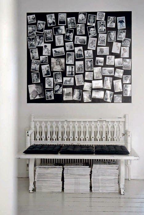 The striking monochrome home of a Swedish photographer