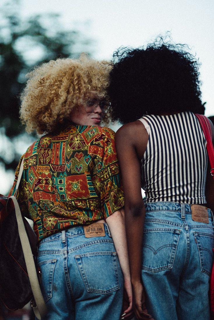 Ser afro é acima de tudo criar a sua própria personalidade atravez de seu cabelo, estilo etc. Freed yourself