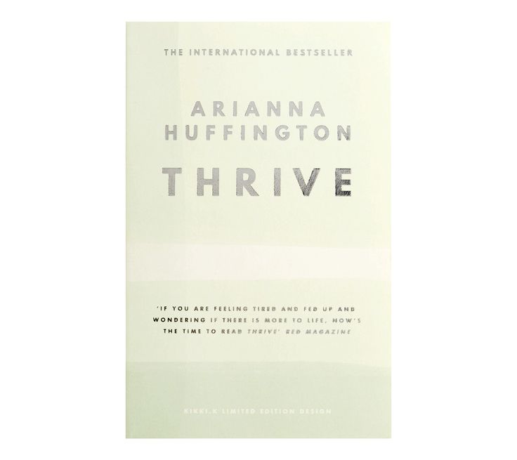 Explore, reflect and imagine with this special kikki.K designed edition of Arianna Huffington's Thrive.