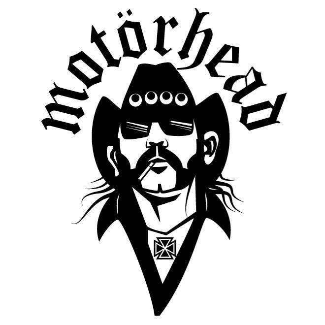 Lemmy Kilmister of Motorhead, vector illustration.
