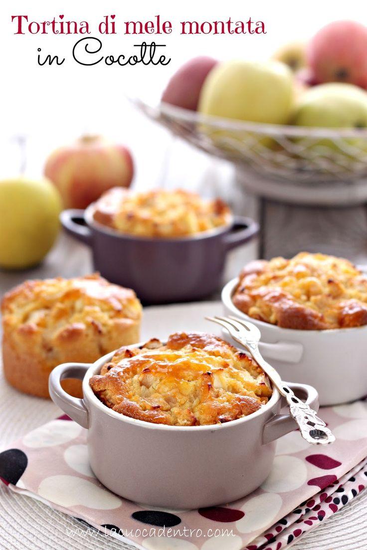 Tortina di mele montata Montersino