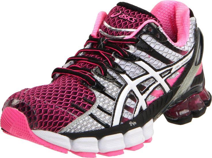 Asics Womens Gel-Kinsei 4 Running Shoe....love the hot pink!!