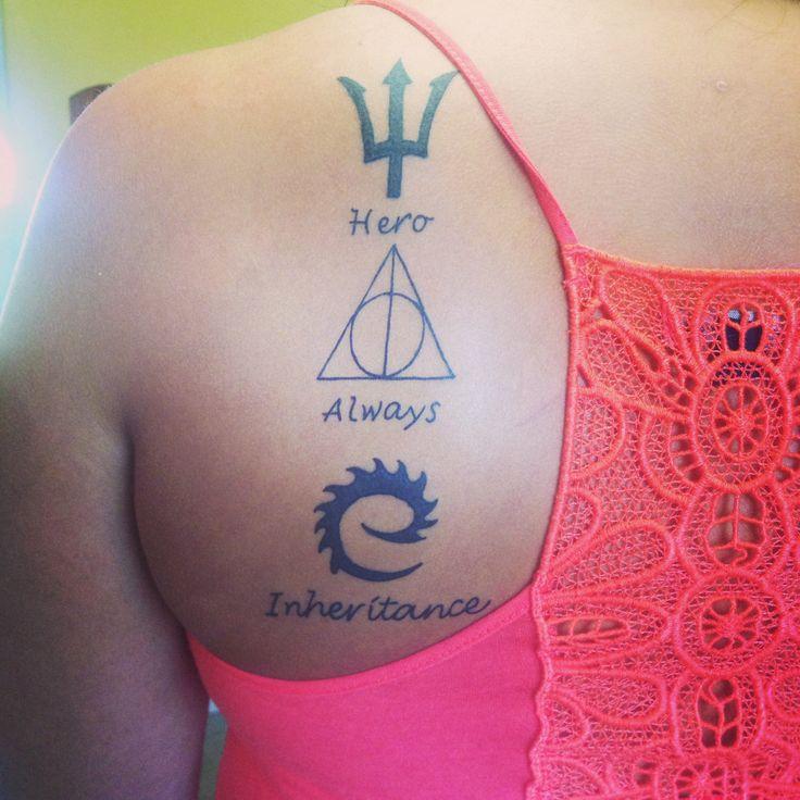 Percy Jackson. Harry Potter. Eragon. | Tattoos | Pinterest