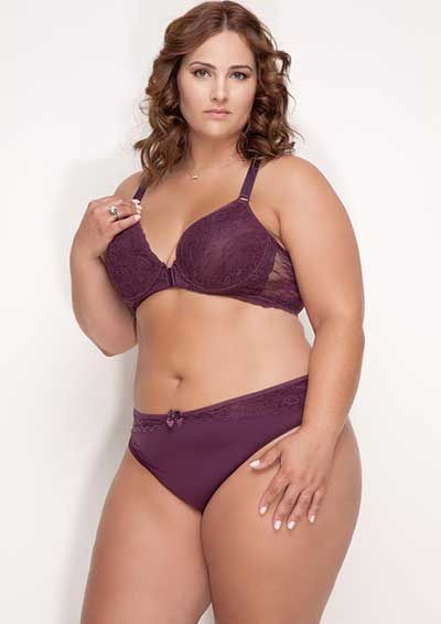 modelos de lingeries plus size