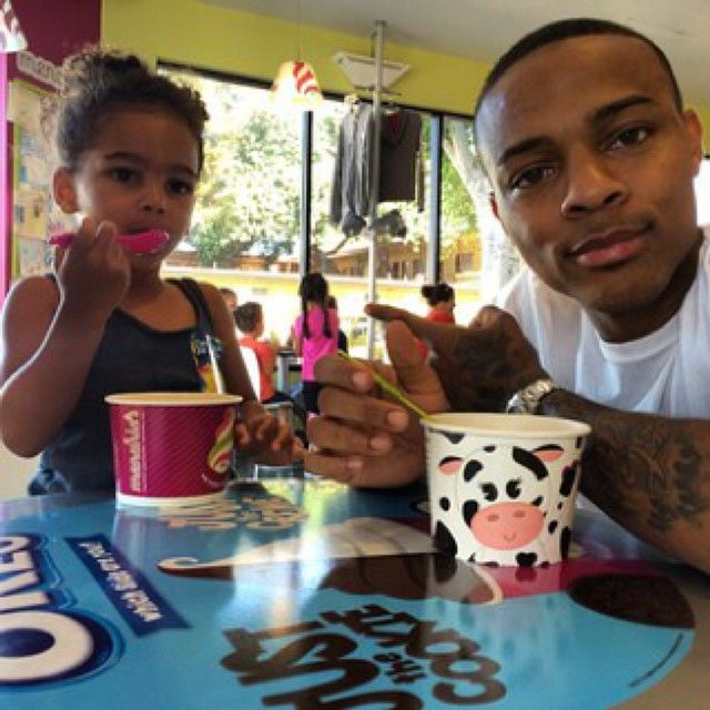 Repost from @shadmoss106 on #AppOne – Oh, how we love any picture of Shad and Shai. #BowWow #ShaiMoss #IceCream #FirstDayOfSchool #ShadMoss
