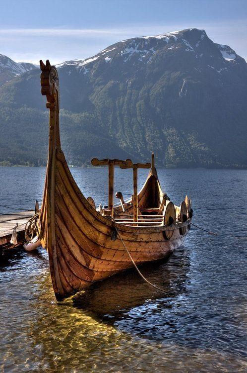 ...Viking ship, Norway...