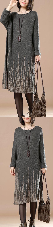 Dark gray knit sweaters oversize knitwear meteorites