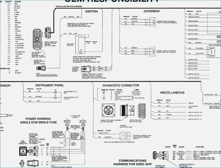 Breathtaking 1993 Dodge Ram Diesel Wiring Diagram Ecm Of Detroit