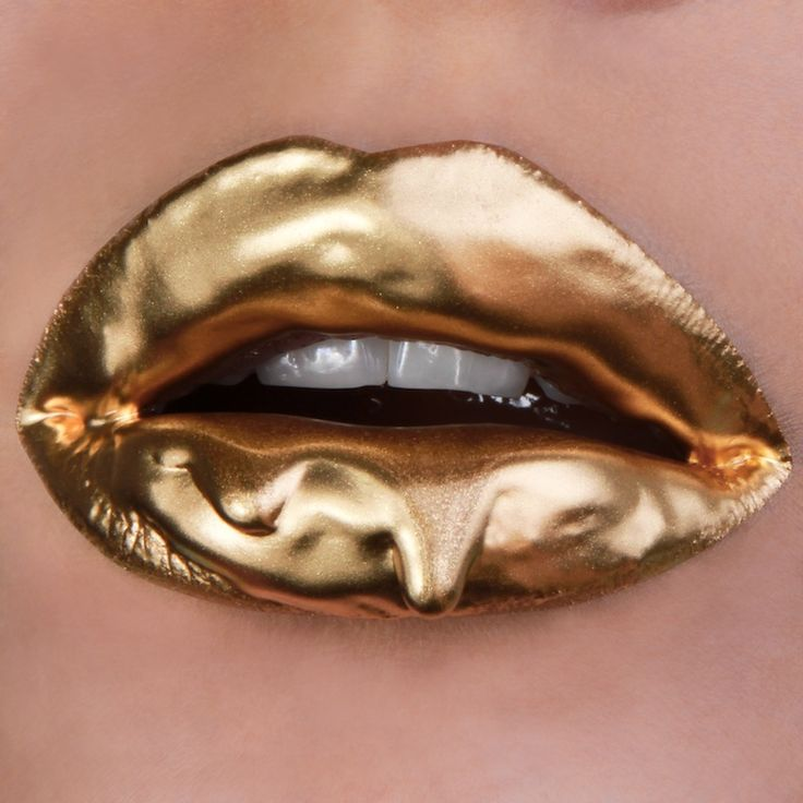 Sneakypeeked: Lip Art By Vlada Haggerty - {sneakypeek} {sneakypeek} |