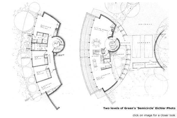 Semicircle floor plan