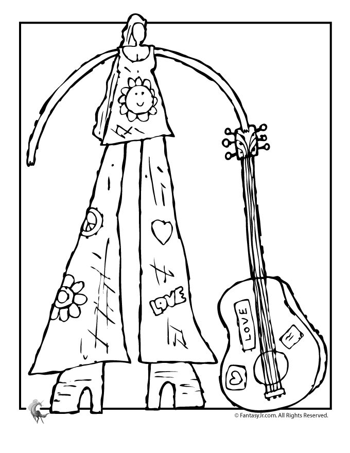 The 23 best Music Coloring Sheets & Pages images on Pinterest ...
