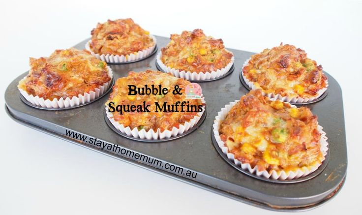 Bubble & Squeak Muffins | Stay at Home Mum