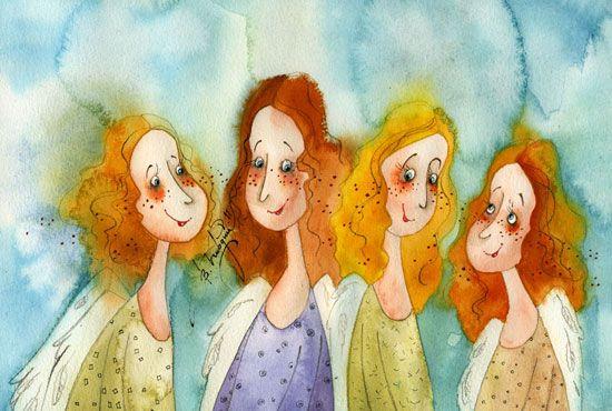 kirdiy: Смеющиеся ангелы