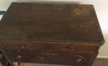 Vintage drawer & shelf unit