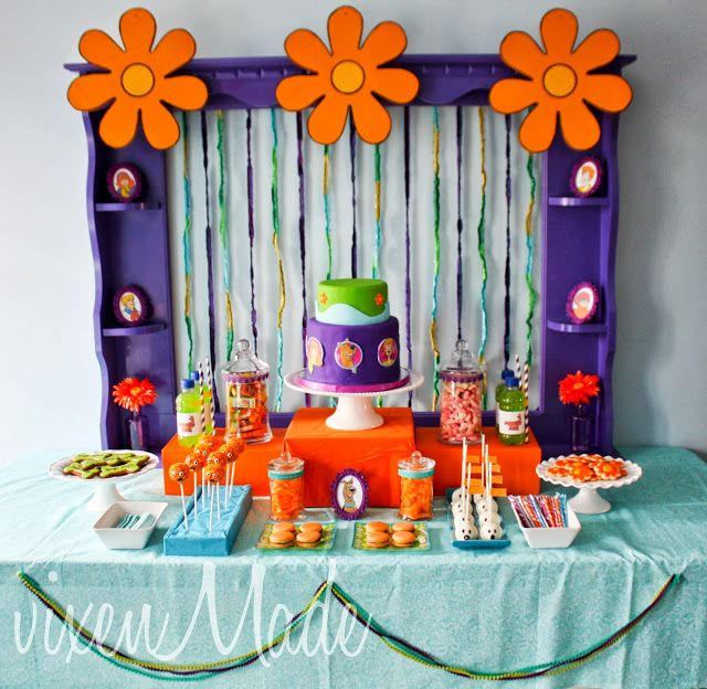cBora ver esse tema fofo e perfeito para festa do Scooby Doo!