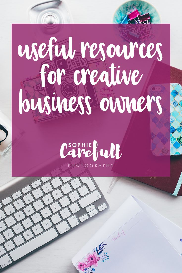 Useful Resources for Creative Business Owners - podcasts, books, online tools, and inspirational resources for creatives and female entrepreneurs.