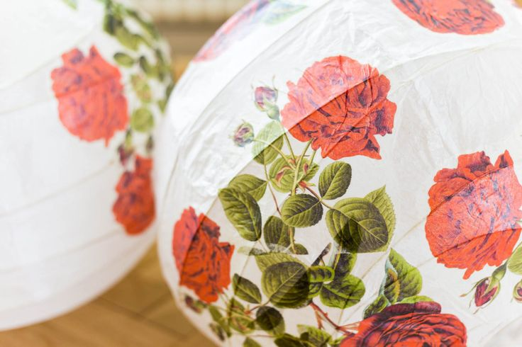 IKEA hack – REGOLIT with roses by Dnilva
