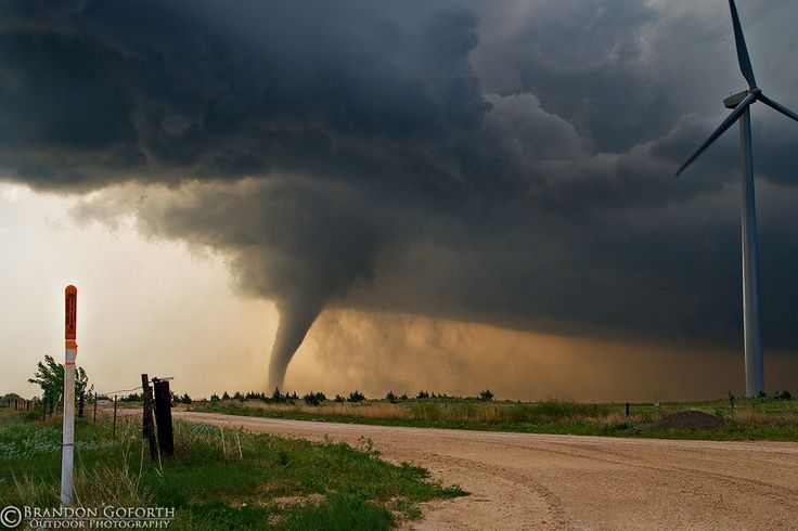 Fort Supply, OK Tornado 2008 by Brandon Goforth, via 500px