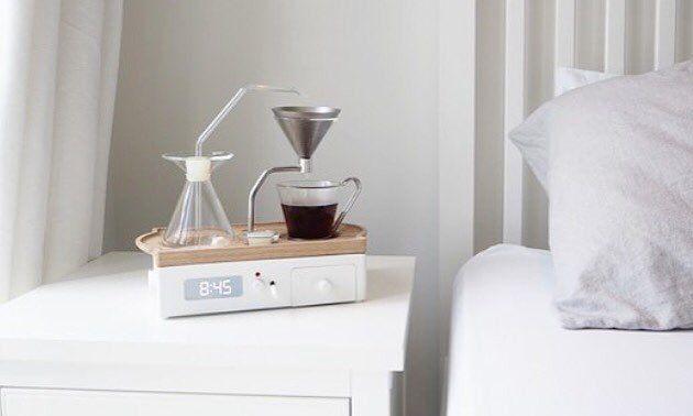 Alarm Clock + Coffee Maker