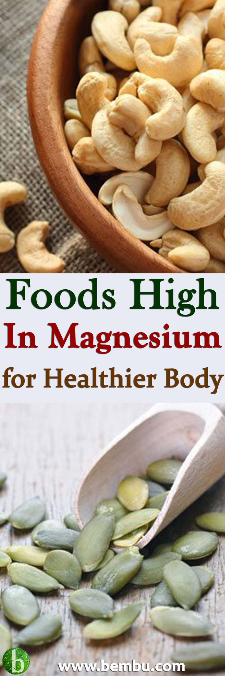 Lentils: 122mg Magnesium (31% DV) Lentils are a good source of magnesium, nearly rivaling their bean cousins Health Tips │ Health Ideas │Healthy Food │Health │Food │Vitamin │Healing │Natural Remedies │Nutrition │Natural Cure │Herbal Remedies │Natural beauty #Health #Ideas #Tips #Vitamin #Healthyfood #Food #Vitamin #Healing #Remedies #Nutrition #Cure #Herbalremedies #Naturalbeauty