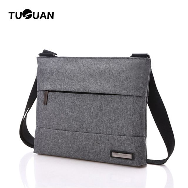 Fair price TUGUAN 2017 Fashion Brand Unisex Canvas Men's Messenger Crossbody Shoulder Bags Women Messenger Bags Men Male Business Bags Sale just only $16.88 with free shipping worldwide  #crossbodybagsformen Plese click on picture to see our special price for you
