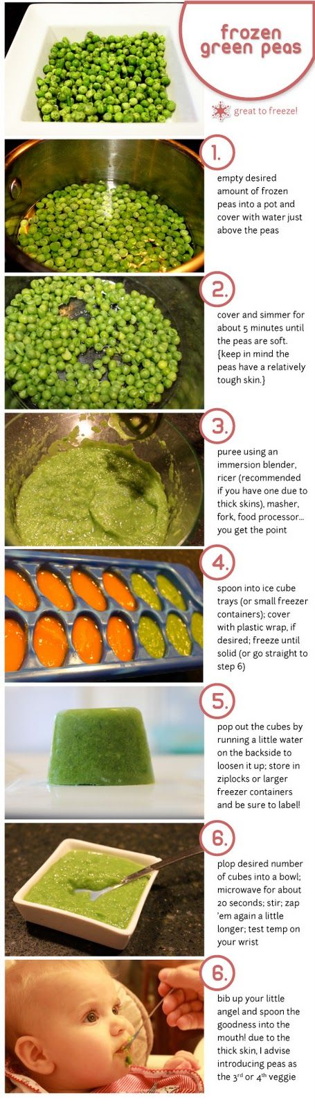How to make your own homemade baby food, plus tips for introducing solids to your baby