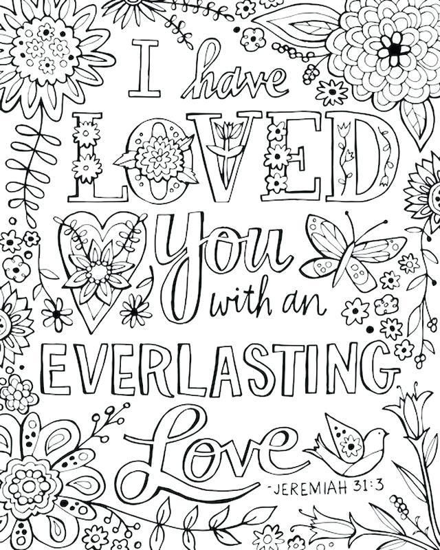 Free Online Printable Bible Coloring Pages Verse Gospel Light Sheets