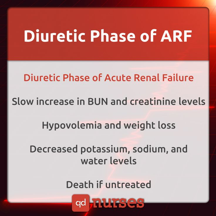 Diuretic Phase of acute renal failure, simplified #nursing #nurse #rn #nursingstudent #nclex #mnemonic #meme