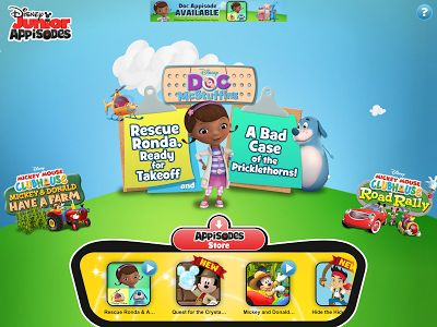 The new Disney Jr. Appisodes #app {review #sponsored #ad} is a great app for preschool aged kids.
