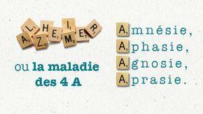 Alzheimer, la maladie des 4 A : amnésie, aphasie, agnosie, apraxie