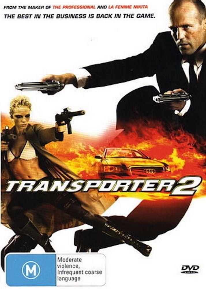 Transporter 2 DVD Brand New Item R4 - Jason Statham, Kate Nauta, Amber Valletta