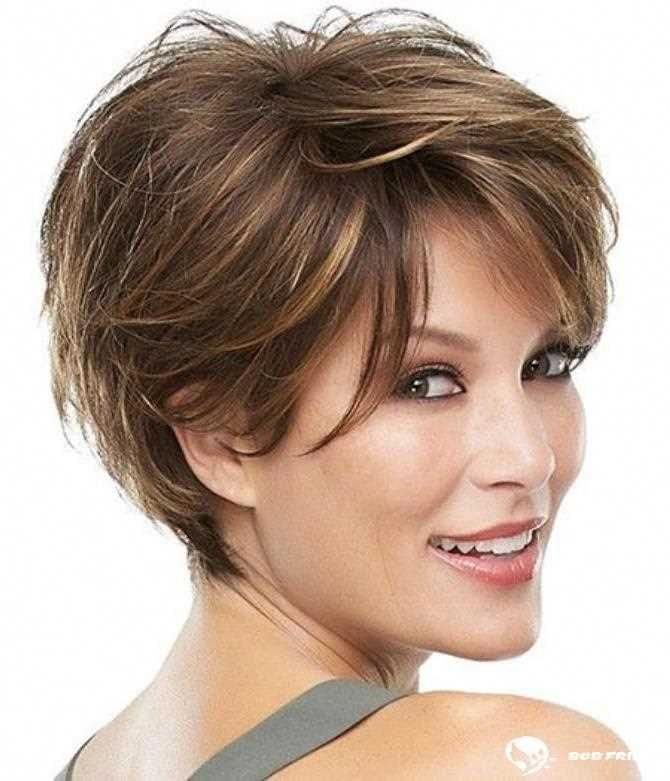 hairstyles women over 40 bangs Round Faces #hairstylesforwomenintheir50s | Over 60 hairstyles ...
