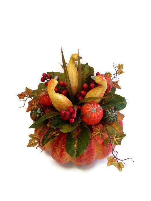 Fall table decor pumpkins photograph pumpkin gourd th