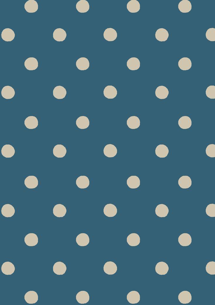 Spot Deep Blue | Cath Kidston classic polkadot print design