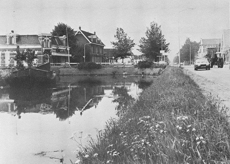 laatste gedempte kanaal aan Noorderstraat Sappemeer