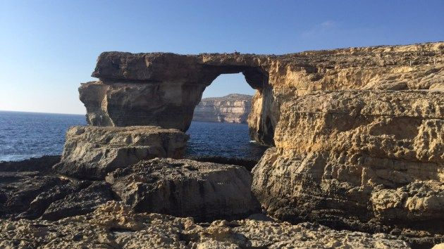 The Azure Window on the Maltese island of Gozo. This place is as beautiful in real life as it is in screen. Do you remember GOT Khaleesi's wedding was shot here?