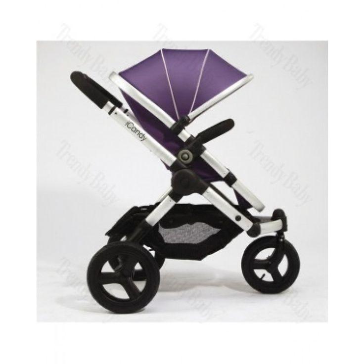 iCandy Peach jogger 3-kolka fialový