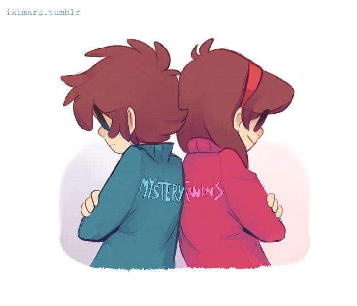 GÊMEOS DO MISTÉRIO!! Esses são os seus nome agora Gêmeo do Mistério #1!