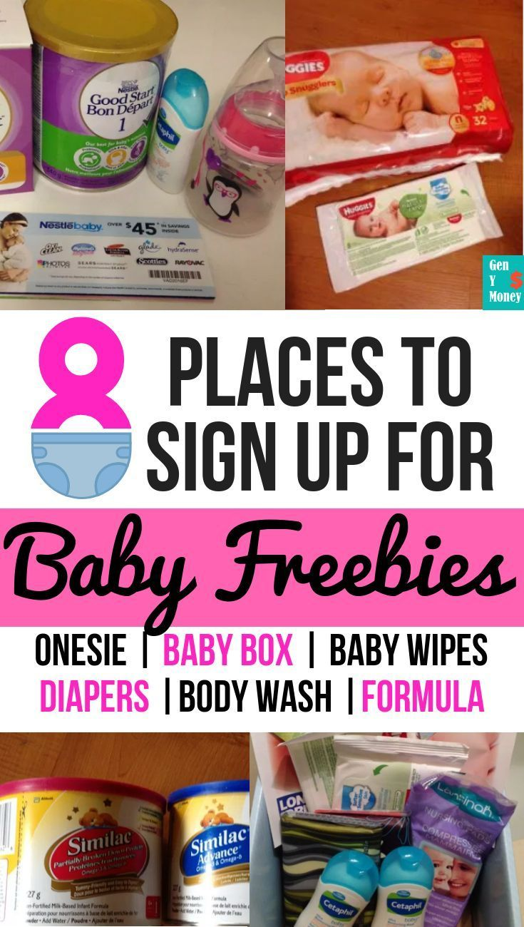 13 Baby Freebies Sign Up for Free Baby Stuff in Canada