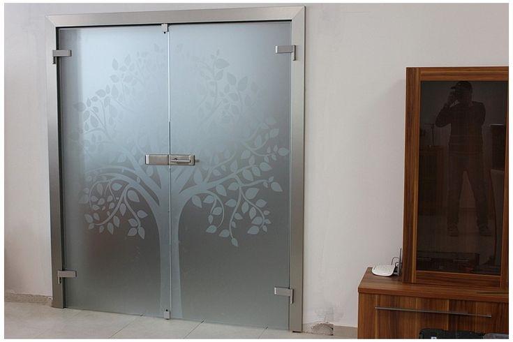Sklenené dvere dvojkrídlové DGG - 176