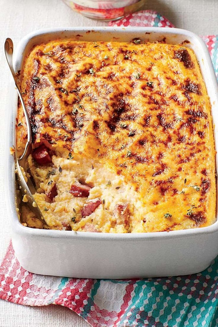 30 Easy Breakfasts Fit for a Crowd: Smoky Sausage and Grits Casserole
