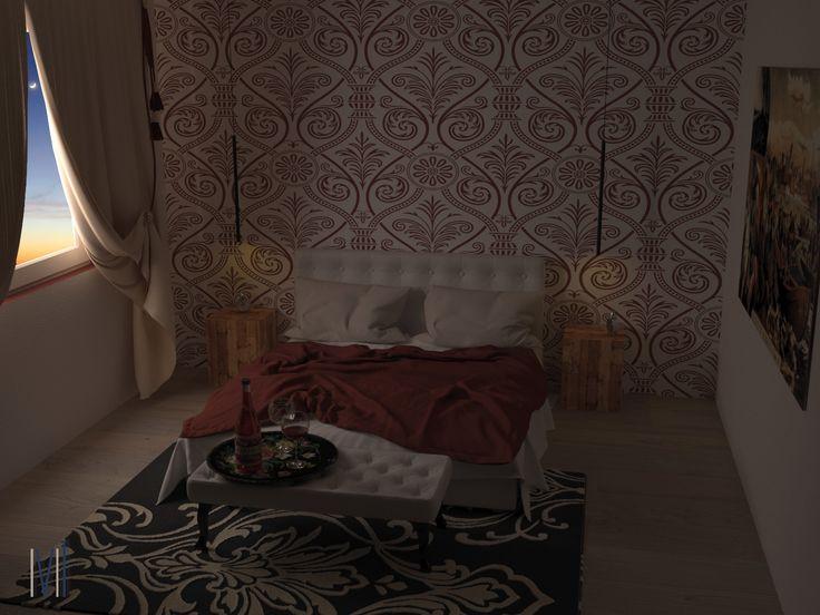 Marsala Bedroom! #13seven #interiordesign #homedesign #arredamentointerni #interiordecoration #furniture #homedecoration #lovedesign #furniturehome