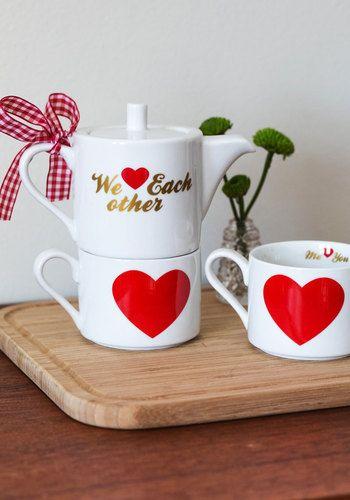 Sweetly Sipping Tea Set | Mod Retro Vintage Kitchen | ModCloth.com