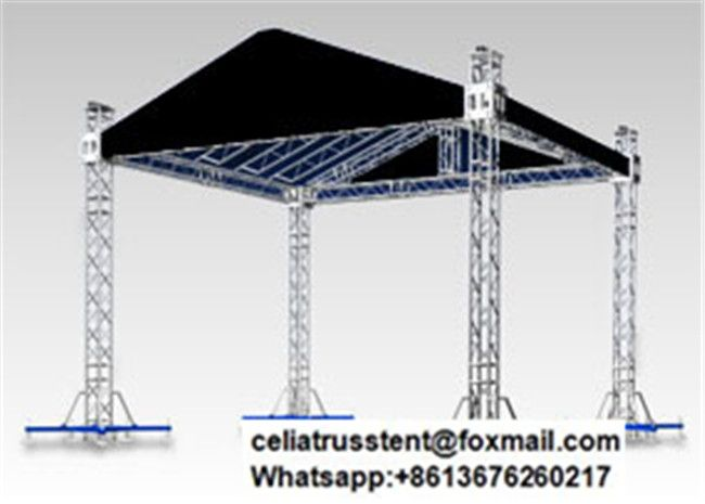 Outdoor Eventos Used Roof Tent Truss System Roof Tent Truss Structure Lighting Truss