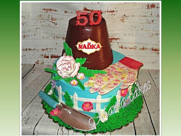 garden cake - zahradní dort