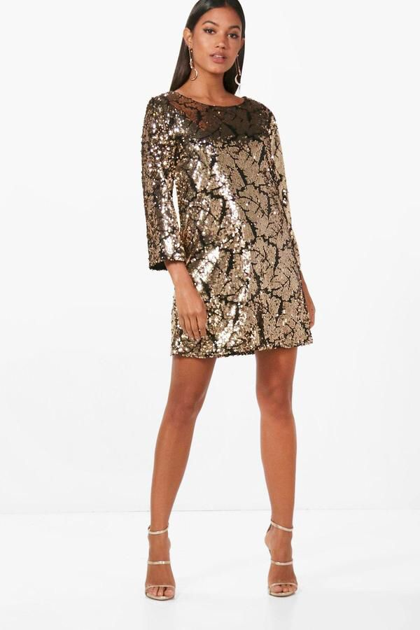 Perfect Nye Outfit Love This Sequin Shift Dress For New Years Eve Great Party Fun And Cly Click The Link To It Now